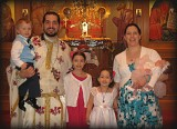 Fr. Stephen Vernak and Family