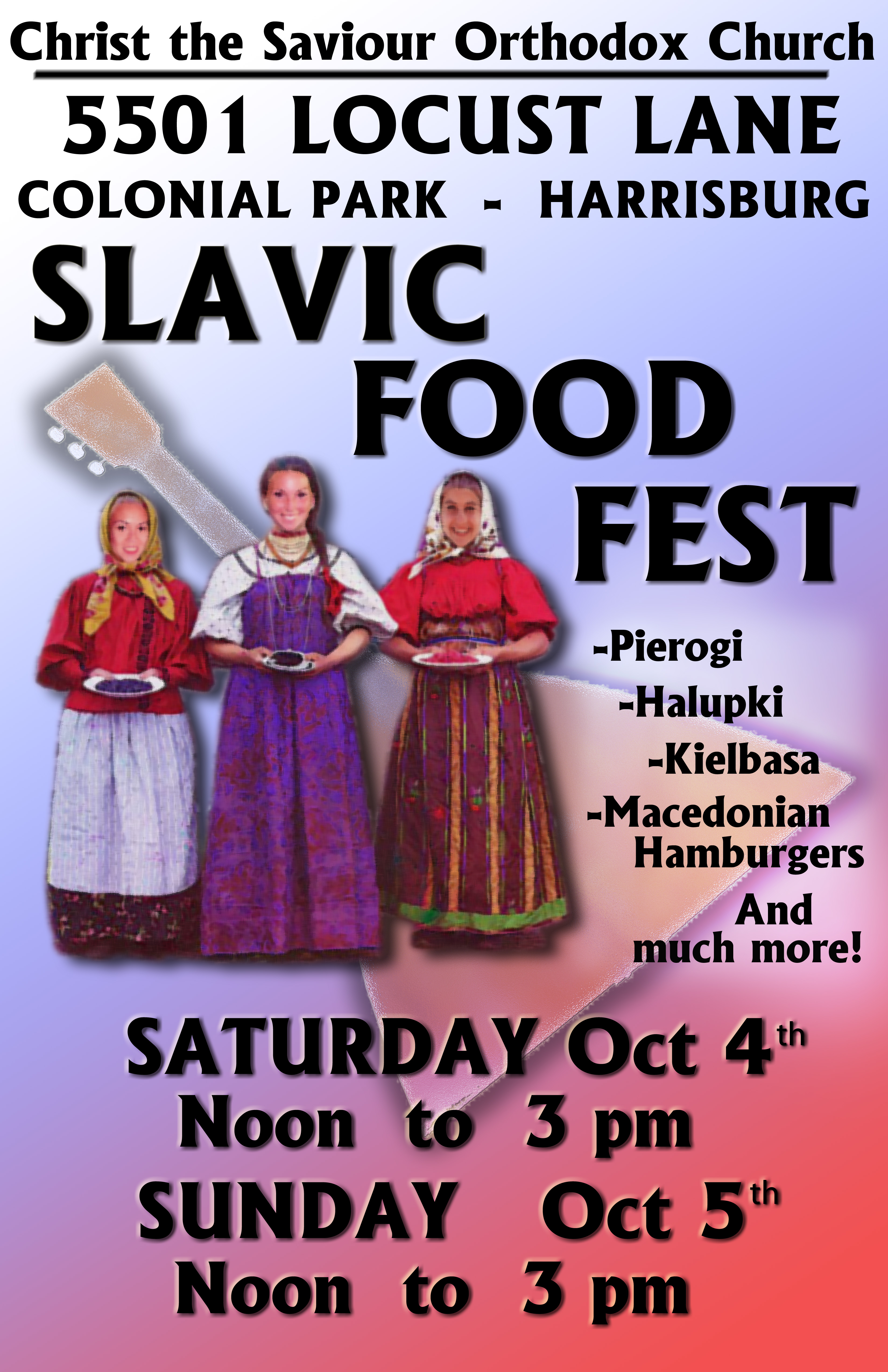 St Nicholas Russian Food Festival Brookside Alabama